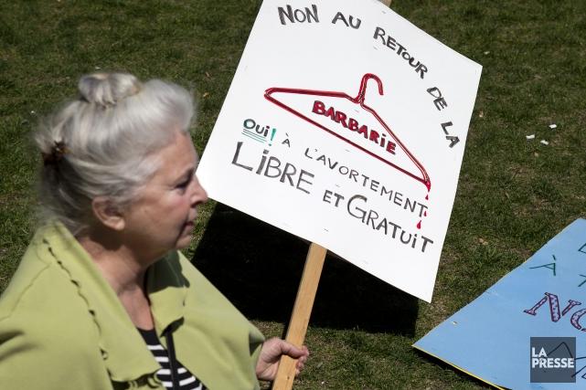 La nouvelle de la possible réduction de l'accès aux avortements au Québec par... (Archives La Presse)