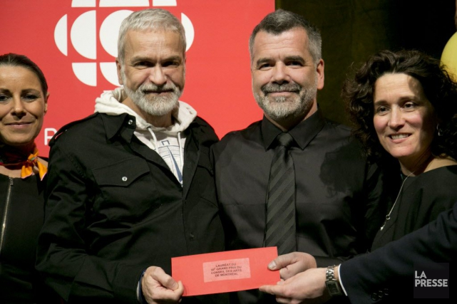 Le Grand Prix du Conseil des arts de... (PHOTO DAVID BOILY, LA PRESSE)