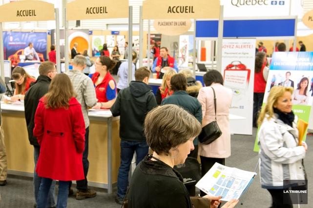 Le secteur manufacturier occupera une place prépondérante lors du Salon... (Archives La Tribune, Jessica Garneau)