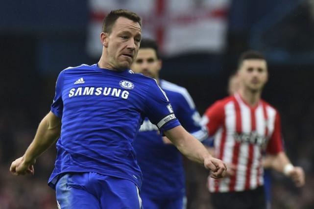 Le contrat de Terry arrivait à son terme... (Photo AFP)