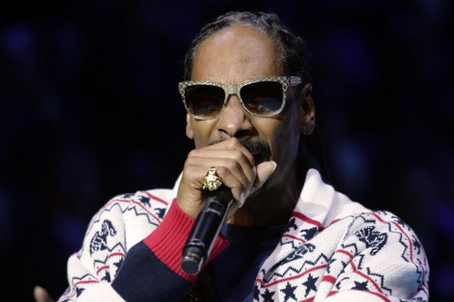Snoop Dogg... (PHOTO MIGUEL MEDINA, AFP)