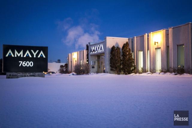 L'entreprise Amaya de Pointe-Claire, propriétaire du site PokerStars,... (PHOTO OLIVIER PONTBRIAND, ARCHIVES LA PRESSE)