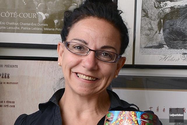 La directrice générale et artitique du Théâtre CRI,... ((Archives Le Quotidien))