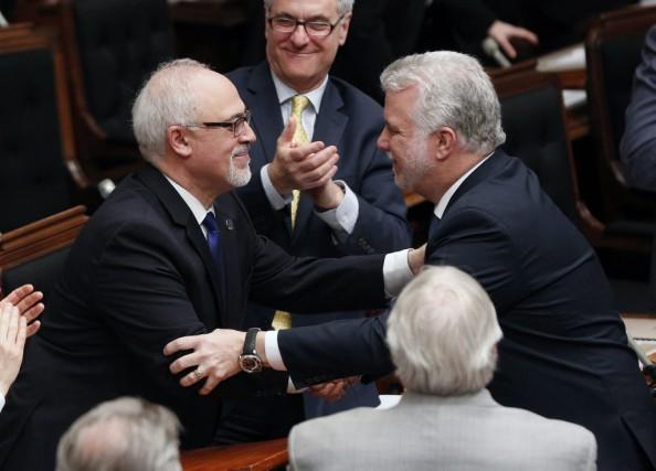 Le ministre des Finances du Québec, Carlos Leitao,... (Mathieu Belanger, La Presse Canadienne)
