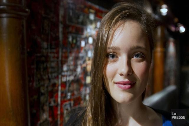 Marianne Fortier (Aurore) incarnera le personnage principal de... (photo Archives La Presse)
