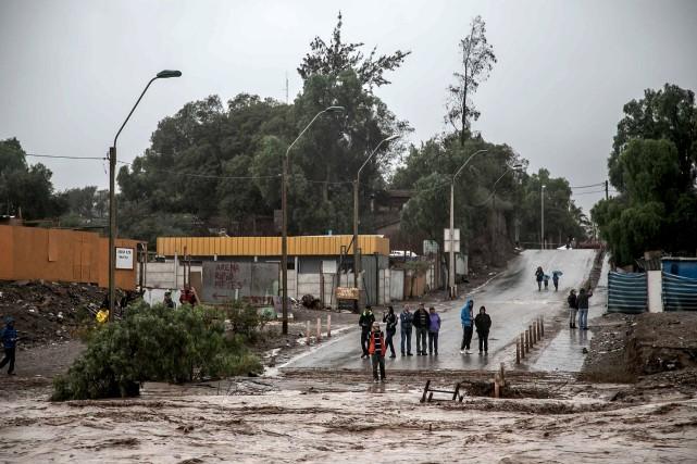 Les précipitations tombées ces derniers jours sont au... (PHOTO REUTERS)