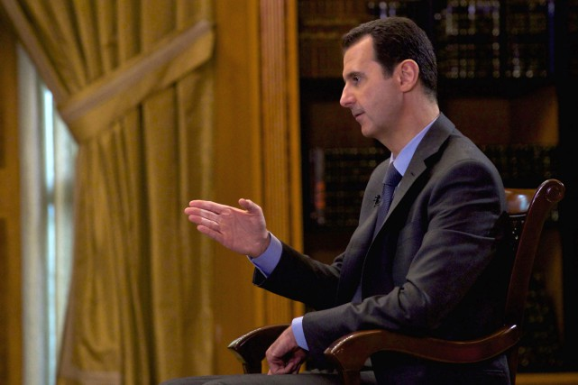 Le président syrien Bachar al-Assad... (PHOTO ARCHIVES AFP)