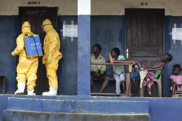 Le Liberian a presque réussi à atteindre le... (PHOTO ARCHIVES AP)