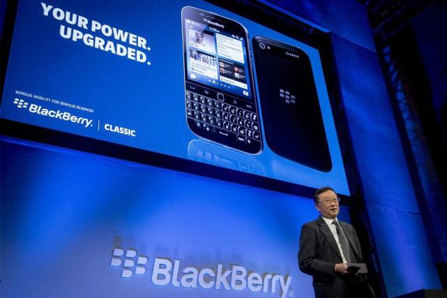 Le patron de BlackBerry, John Chen, lors de... (PHOTO BRENDAN MCDERMID, ARCHIVES REUTERS)