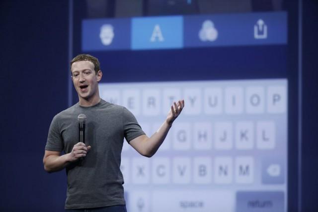 Le fondateur et PDG de Facebook, Mark Zuckerberg,a... (AP, Eric Risberg)