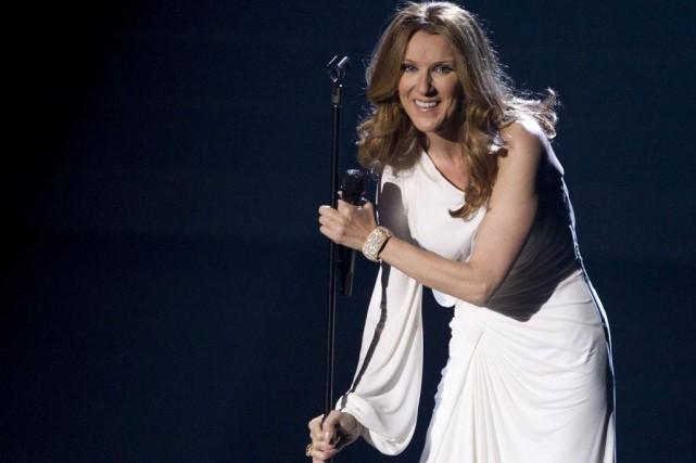 Céline Dion sur la scène du Colosseum du... (Photo: archives AP)