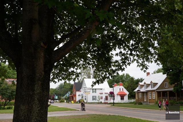 Le Chemin-du-Roy à la hauteur de Champlain est... (Photo: Sylvain Mayer, Le Nouvelliste)