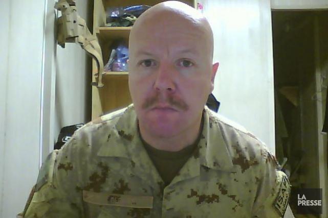Les faits reprochés au lieutenant-colonel Martin Bernier seraient... (Photo tirée de Facebook)