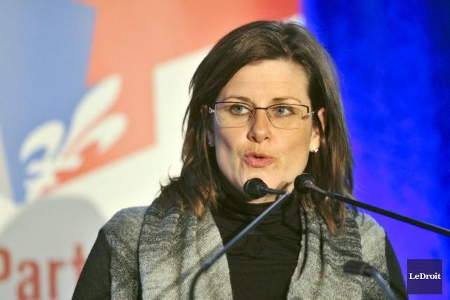La ministre responsable de l'Outaouais, Stéphanie Vallée.... (Martin Roy, Archives LeDroit)