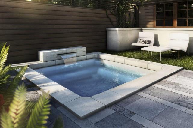 Ce spa urbain nommé Refuge est fait d'un... (Image fournie par Aqua Innovation)