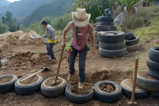 Pionnière de ce projet en Colombie, Alexandra Posada,... (PHOTO EITAN ABRAMAOVICH, AFP)