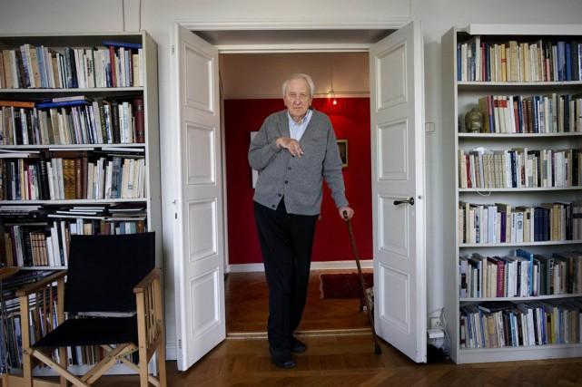 Le poète suédois Tomas Tranströmer.... (Photo: archives Reuters)