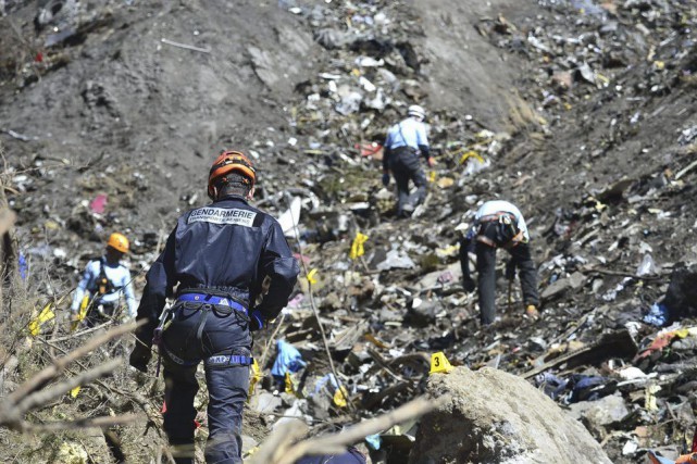 Le vol de Germanwings, filiale de Lufthansa, reliant... (Archives AFP)