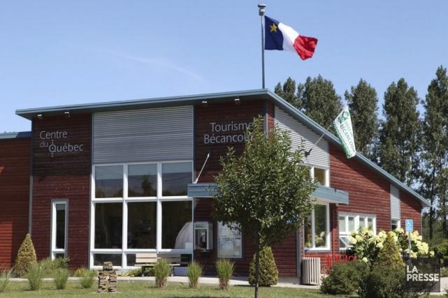 Les bureaux de Tourisme Bécancour.... (André Schelling)