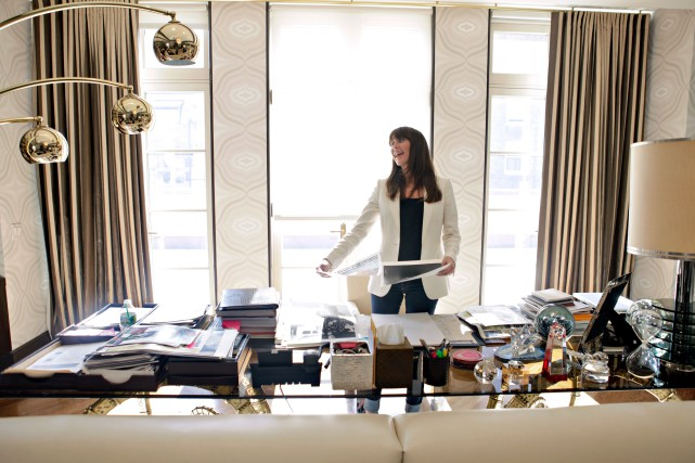 Tamara Mellon, la fondatrice de la marque Jimmy... (Photo Danny Ghitis, The New York Times)