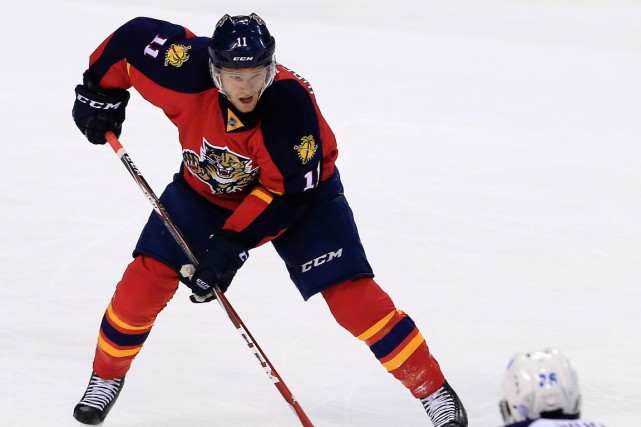 Jonathan Huberdeau a récolté 54 points en 79 matchs... (PHOTO ROBERT MAYER, ARCHIVES USA TODAY)