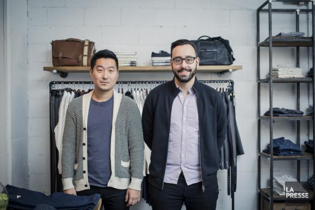 Le co-fondateur de l'entreprise, Ethan Song (cofondateur, PDG... (Photo Edouard Plante-Fréchette, La Presse)