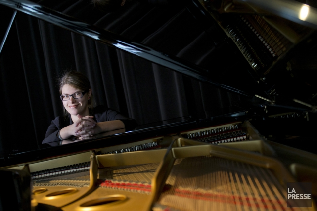 Quantum, troisième enregistrement de la jazzwoman Emie R. Roussel,... (Photo: Ivanoh Demers, La Presse)