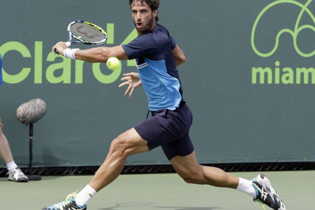 Feliciano Lopez... (Photo Alan Diaz, AP)