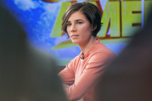 Amanda Knox... (Photo Reuters)