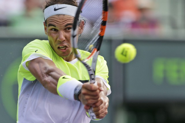 Rafael Nadal... (PHOTO WILFREDO LEE, AP)