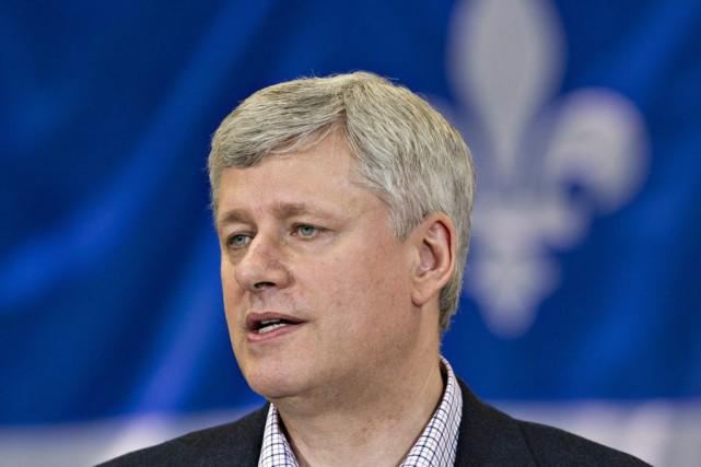 Le premier ministre Stephen Harper s'est réjoui de... (Photo La Presse Canadienne, Jacques Boissinot)
