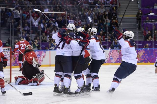 Au Championnat du monde, la formation américaine compte... (PHOTO ARCHIVES AFP)