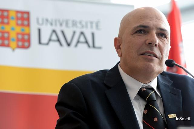 Le vice-recteur principal de l'Université Laval, Éric Bauce... (Photothèque Le Soleil, Erick Labbé)