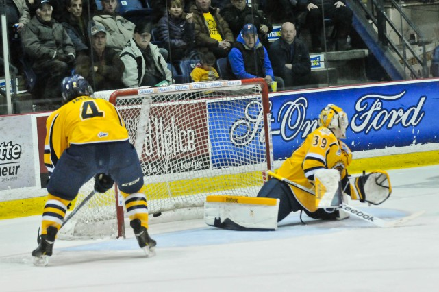 Les Cataractes ont perdu le premier match de... (Photo: Émilie O'Connor)