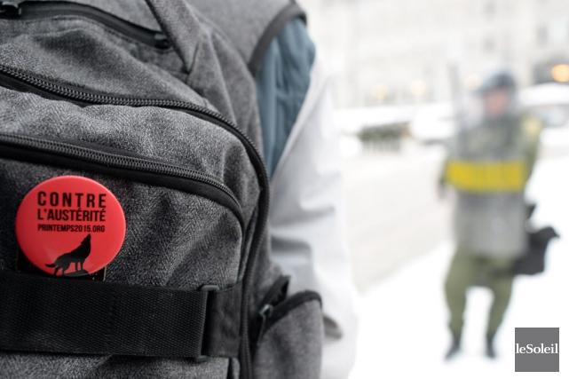 L'Association pour une solidarité syndicale étudiante (ASSÉ) entend appuyer et... (Photo Erick Labbe, Le Soleil)