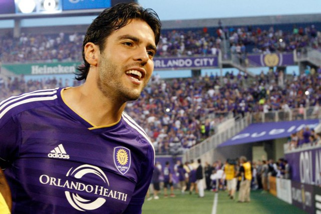 Kaka est une menace en attaque, tant en... (PHOTO KIM KLEMENT, USA TODAY)