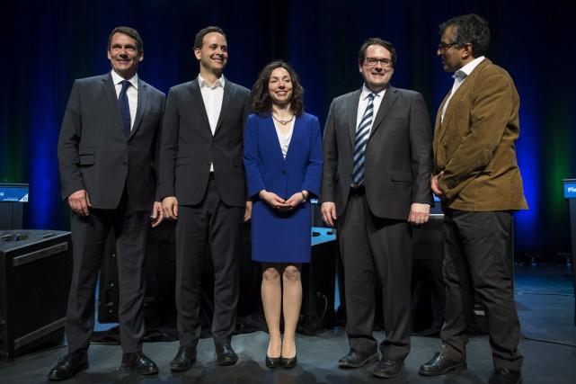 Pierre Karl Péladeau, Alexandre Cloutier, Martine Ouellet, Bernard... (La Presse Canadienne)