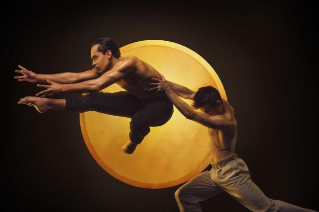 Le ballet Kaguyahime, inspiré d'une légende japonaise, est... (Photo Damian Siqueiros, fournie par les grands ballets canadiens)