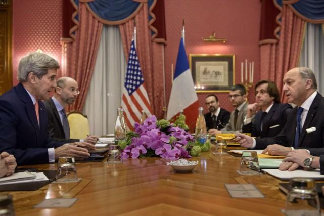 Les grandes puissances et l'Iran se préparent à... (Photo Brendan Smialowski, AFP)