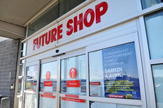Le magasin de matériel électronique ouvrira ses portes... (Photo: Émilie O'Connor)