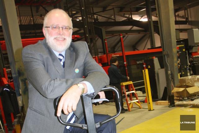 Alec van Zuiden, président de Zen metal Technologies... (La Tribune, Jean-François Gagnon)