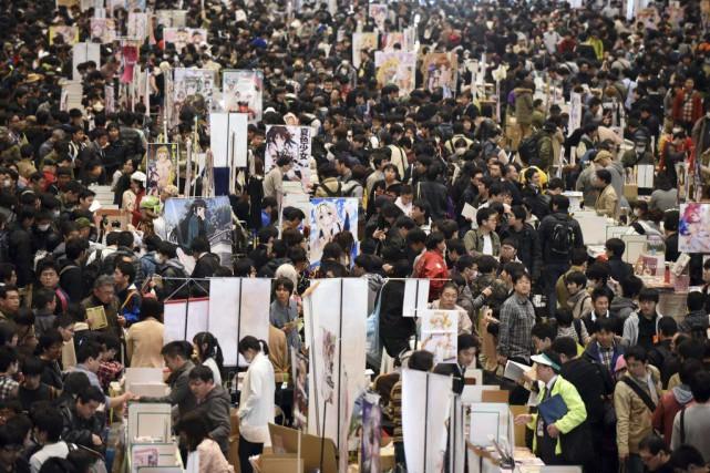 La culture des «otaku», clientèle de plus en... (PHOTO TORU YAMANAKA, AFP)
