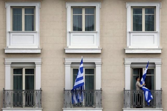 Selon la presse grecque, la liste des réformes... (PHOTO YANNIS BEHRAKIS, REUTERS)