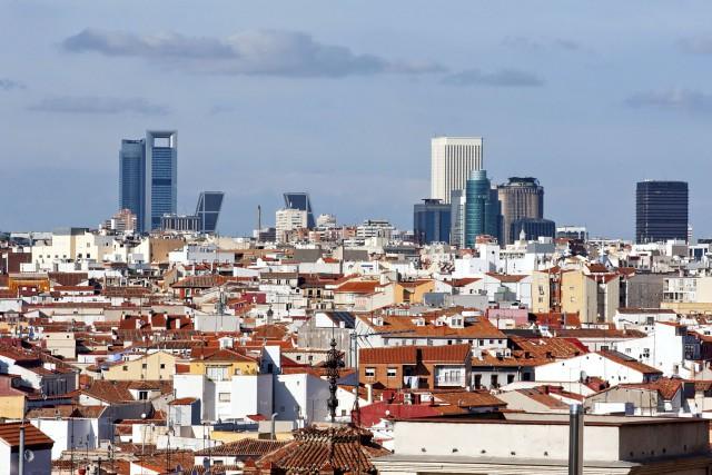 La ville de Madrid.... (Photo Digital/Thinkstock)