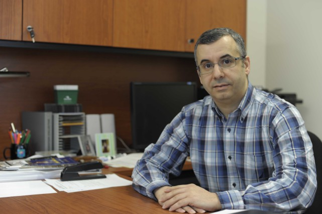 Le nouveau président du SPPUQTR, Ismaïl Biskri, a... (Photo: Sylvain Mayer)