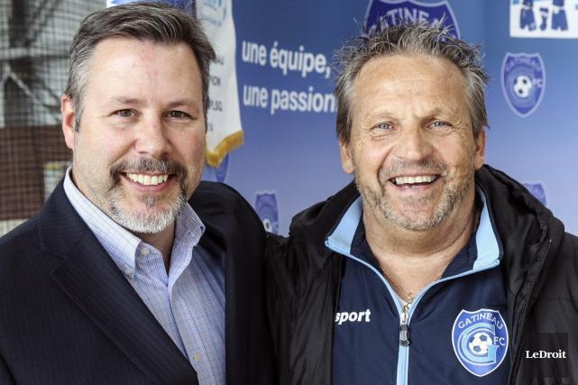 Le FC Gatineau perdra bientôt son président, Richard... (Patrick Woodbury, LeDroit)