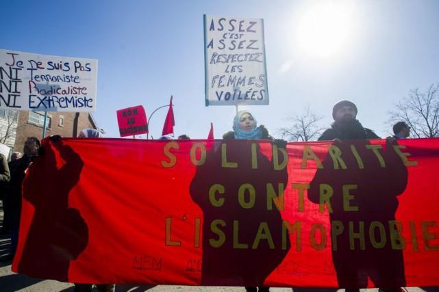 Une contre-manifestation prévue par des groupes de gauche... (Photo Graham Hughes, PC)