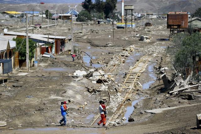 Les précipitations tombées ces derniers jours sont au... (PHOTO IVAN ALVARADO, REUTERS)