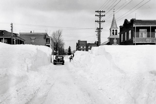 Chaque semaine, le photographe Patrice Laroche déniche des photos de Québec... (Photo Archives Ville de Québec)