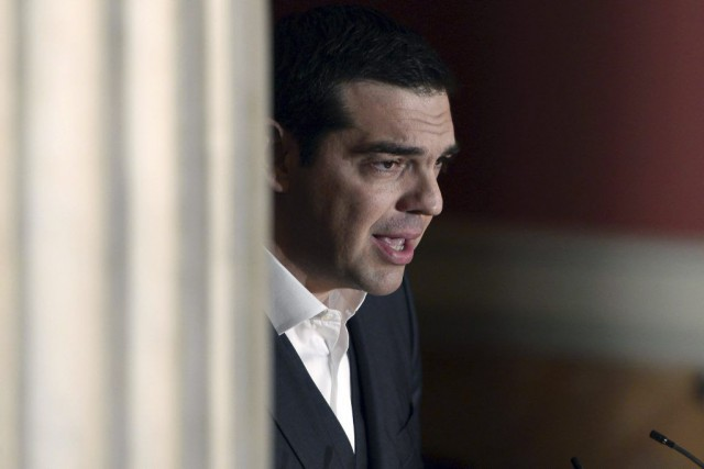 Le premier ministre grec, Alexis Tsipras, s'était déclaré... (PHOTO LOUISA GOULIAMAKI, AFP)